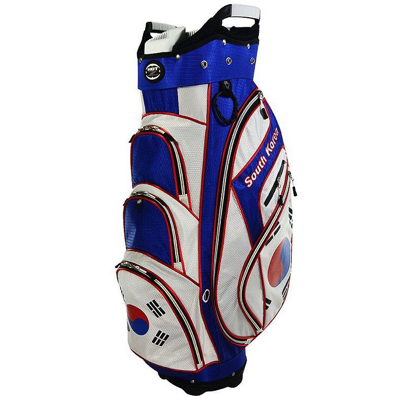 Hot-Z South Korea Flag Cart Golf Bag