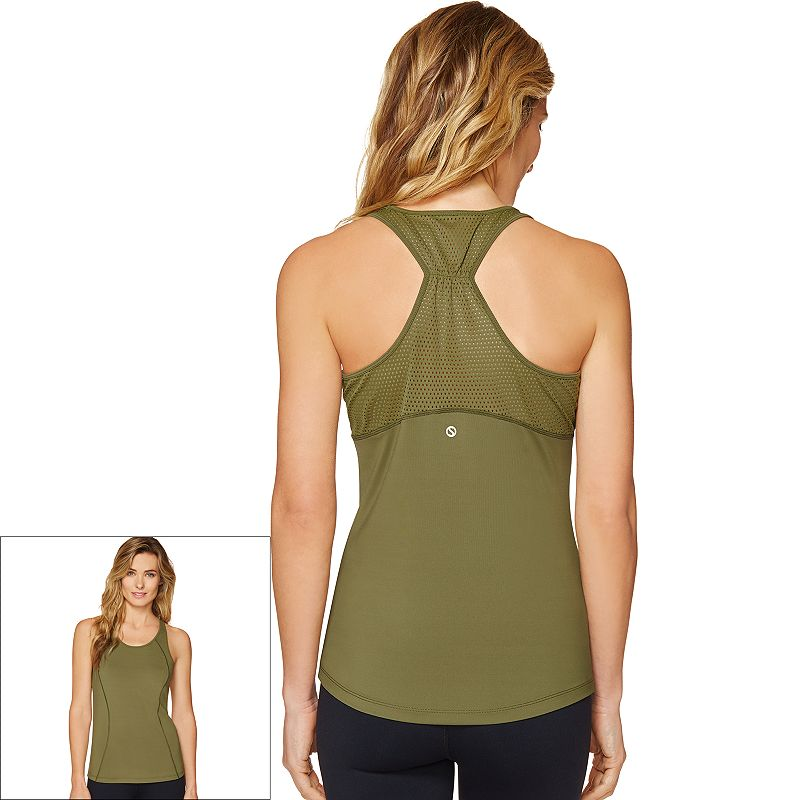 Women's Shape Active S-Seam Scoopneck Racerback Workout Tank