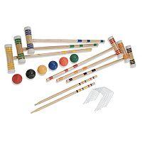 Halex Premier 6-Player Croquet Set