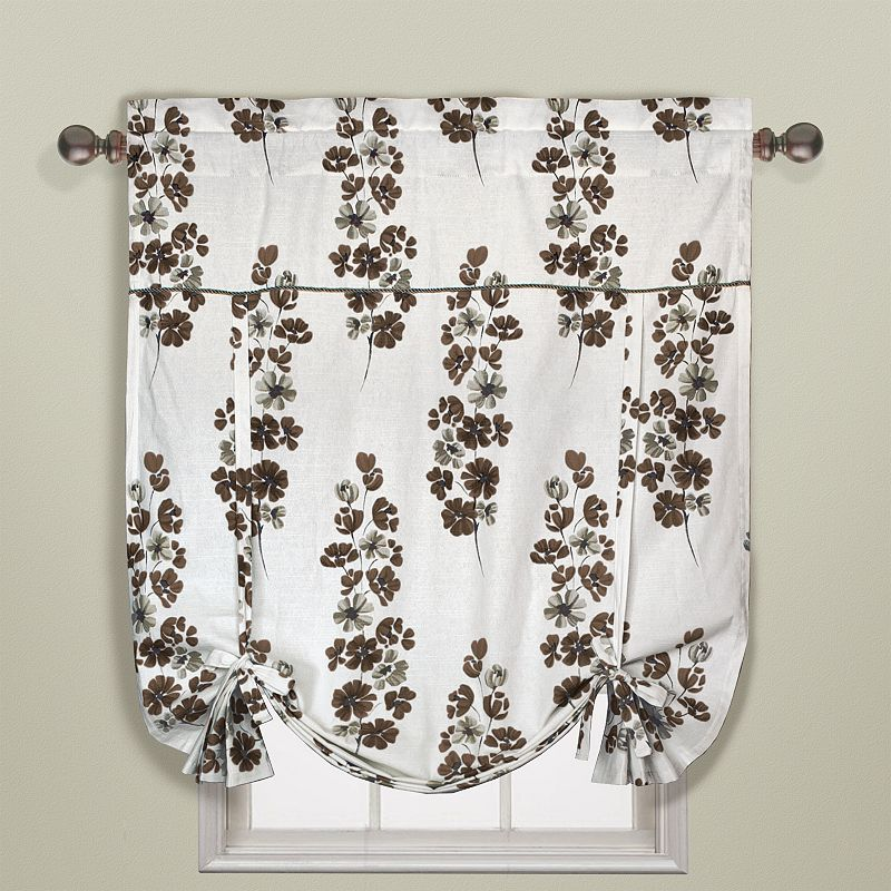 United Curtain Co. Chelsea Tie-Up Shade - 40'' x 63''