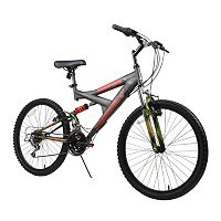 Dynacraft 24-in. Gauntlet Full Suspension Mountain Bike - Boys