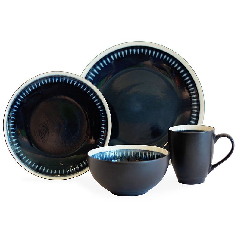 Baum Reactive Line 16-pc. Dinnerware Set