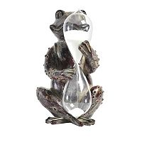 Elements Frog Hourglass Holder