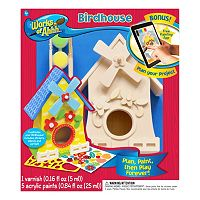 MasterPieces Works of Ahhh... Wood Painting Kit - Birdhouse