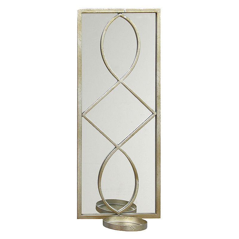 Candle Wall Sconces Kohls : Stratton Home Deco Geometric Mirror Wall Sconce