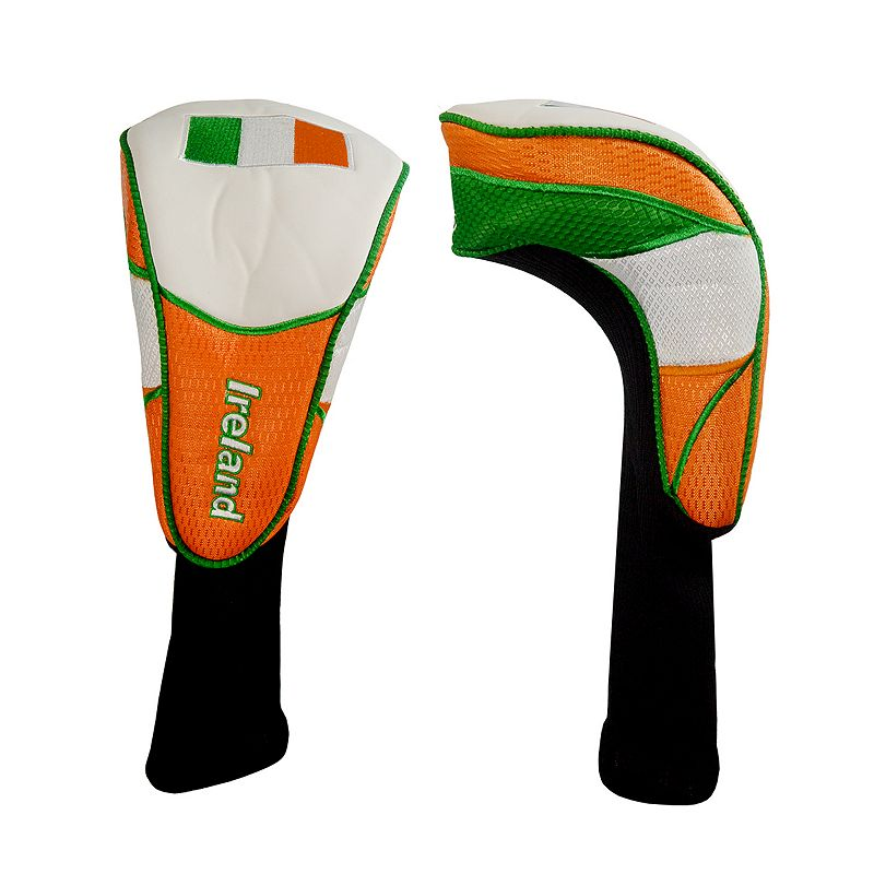Hot-Z Ireland National Flag Golf Driver Headcover, Multi/None