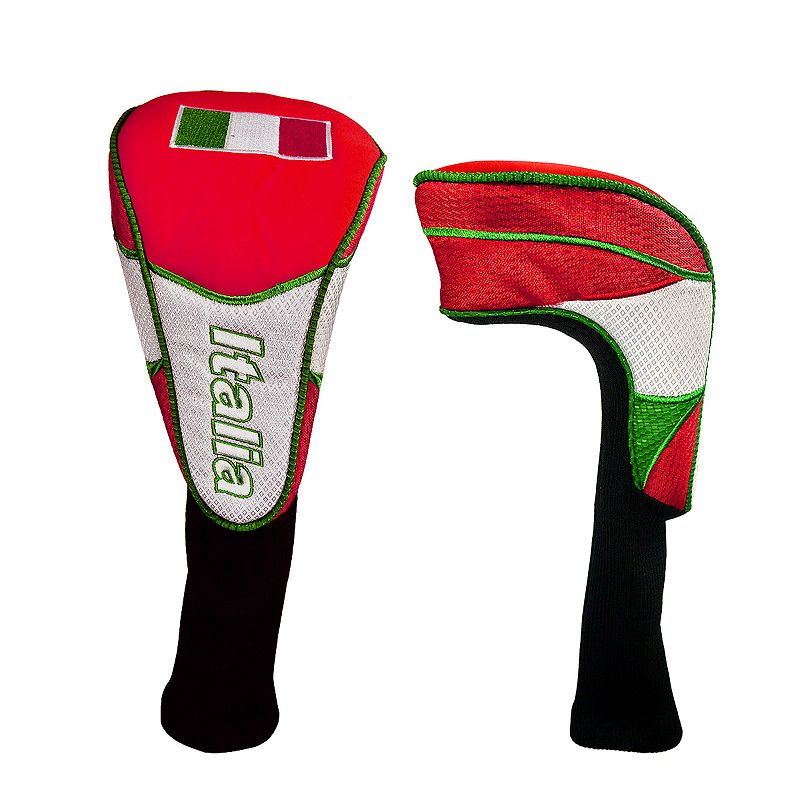 Hot-Z Italia National Flag Golf Driver Headcover, Multi/None