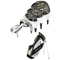Ray Cook Silver Ray Uniflex Right Hand Golf Clubs & Stand Bag Set - Men's
