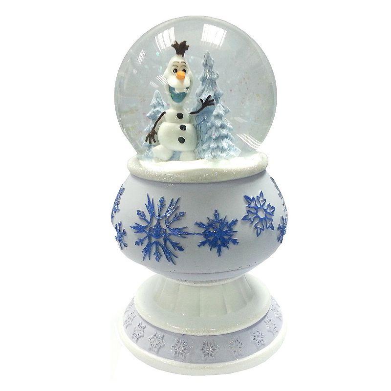 Disney's Frozen Olaf Pedestal Snowglobe