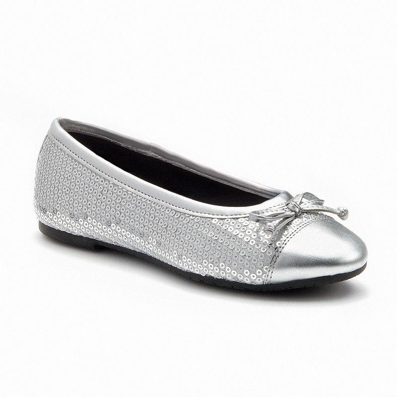 Rachel Shoes Capri Girls' Sequined Ballet Flats