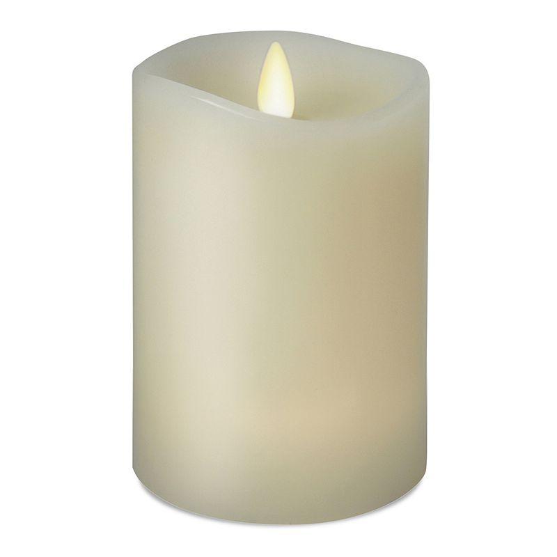 Luminara 3.5'' x 5'' Vanilla Flameless Pillar Candle