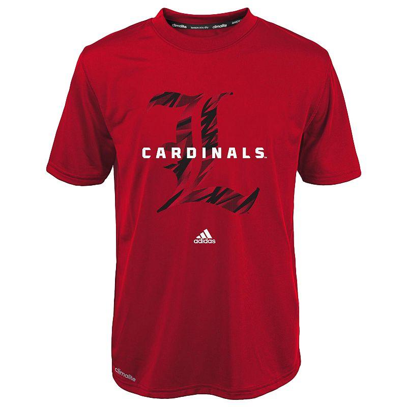 Boys 8-20 adidas Louisville Cardinals Shocked climalite Tee