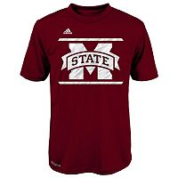 Boys 8-20 adidas Mississippi State Bulldogs Climalite Performance Tee