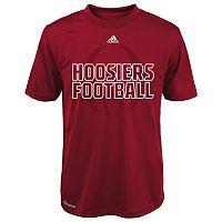 Boys 8-20 adidas Indiana Hoosiers Sideline Helmet Shock Energy Tee