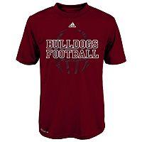 Boys 8-20 adidas Mississippi State Bulldogs Sideline Helmet Shock Energy Tee