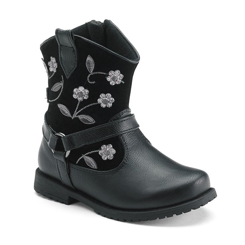 Rachel Shoes Madison 4 Toddler Girls' Floral Boots