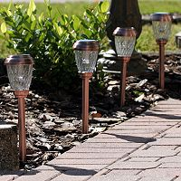Smart Solar Charleston Outdoor Pathway Light 6-piece Set