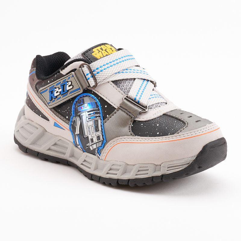 Star Wars R2-D2 On Board Boys' Light-Up Athletic Shoes