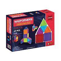 Magformers 40-pc. Opaque Solid Rainbow Set