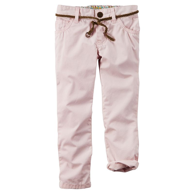 Carter's Toddler Girl Easy Fit Twill Pants