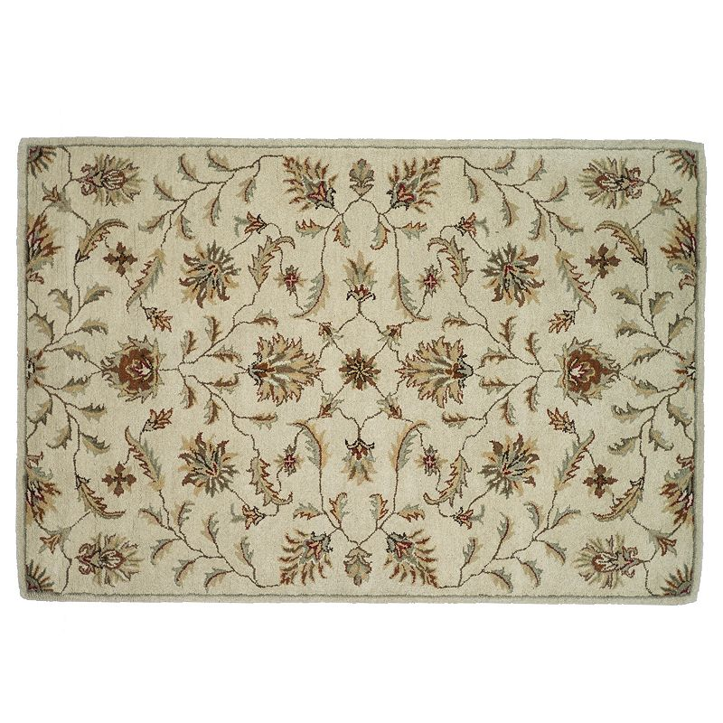 Loloi Fairfield Floral Vine Wool Rug