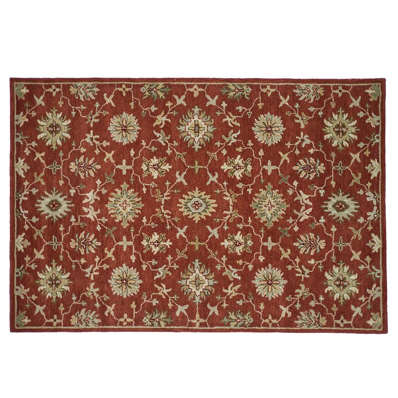 Loloi Fairfield Floral Wool Rug