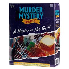 University Games Murder on the Grill: Murder Mystery Party Game by