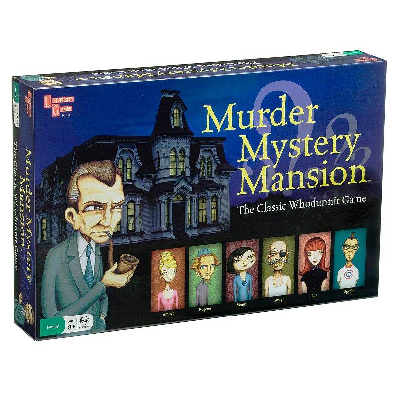 University Games Murder Mystery Mansion Game