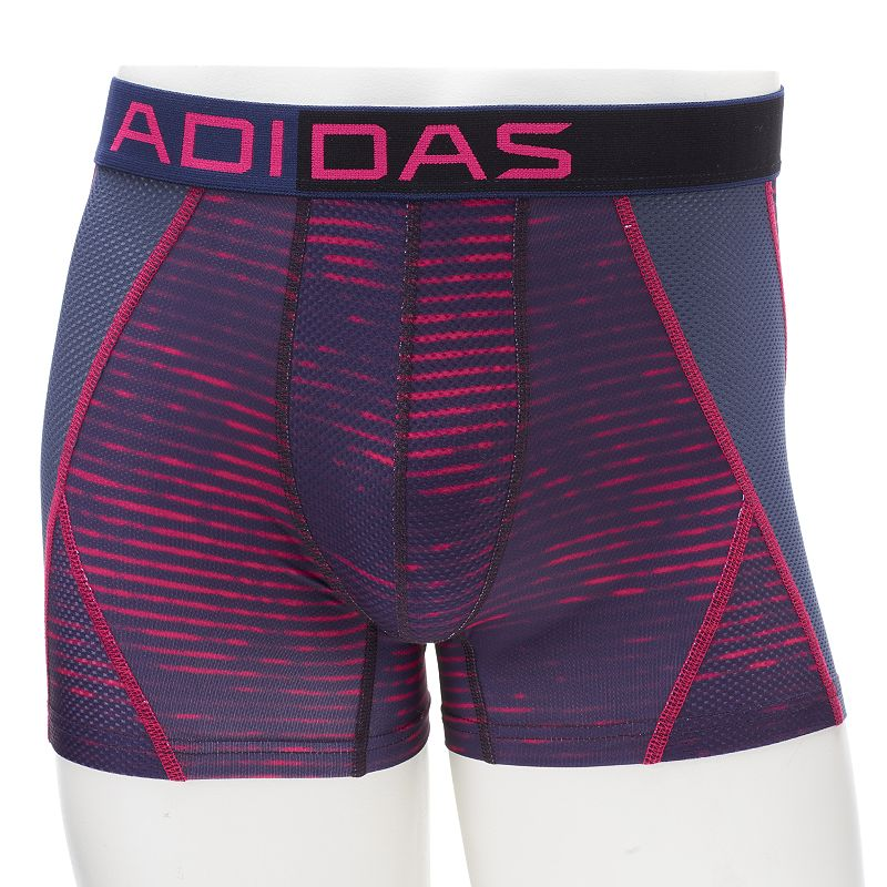 Men's adidas ClimaCool Patterned Performance-Fit Mesh Midway Briefs
