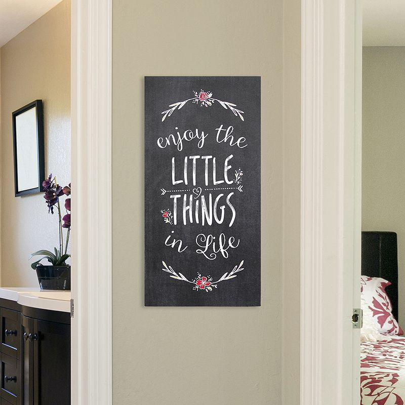Stratton Home Decor The Little Things Wall Art Black