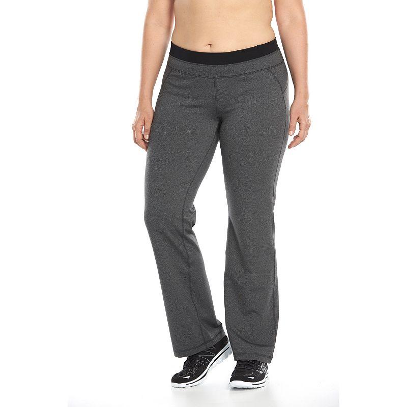 Plus Size Tek Gear® Shapewear Bootcut Workout Pants
