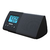 iHome Portable USB Charging Dual Alarm Clock Speaker System