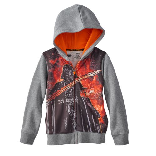 Star Wars a Collection for Kohl's Darth Vader Hoodie - Boys 4-7x