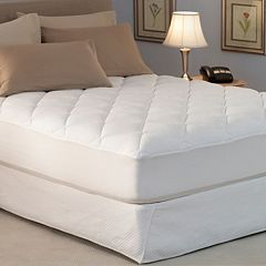 Spring Air Won't Go Flat Down-Alternative Deep-Pocket Mattress Pad by