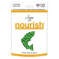 Isle of Dogs 2-Ounce Nourish Freeze-Dried Dog Treats - White Fish & Peas