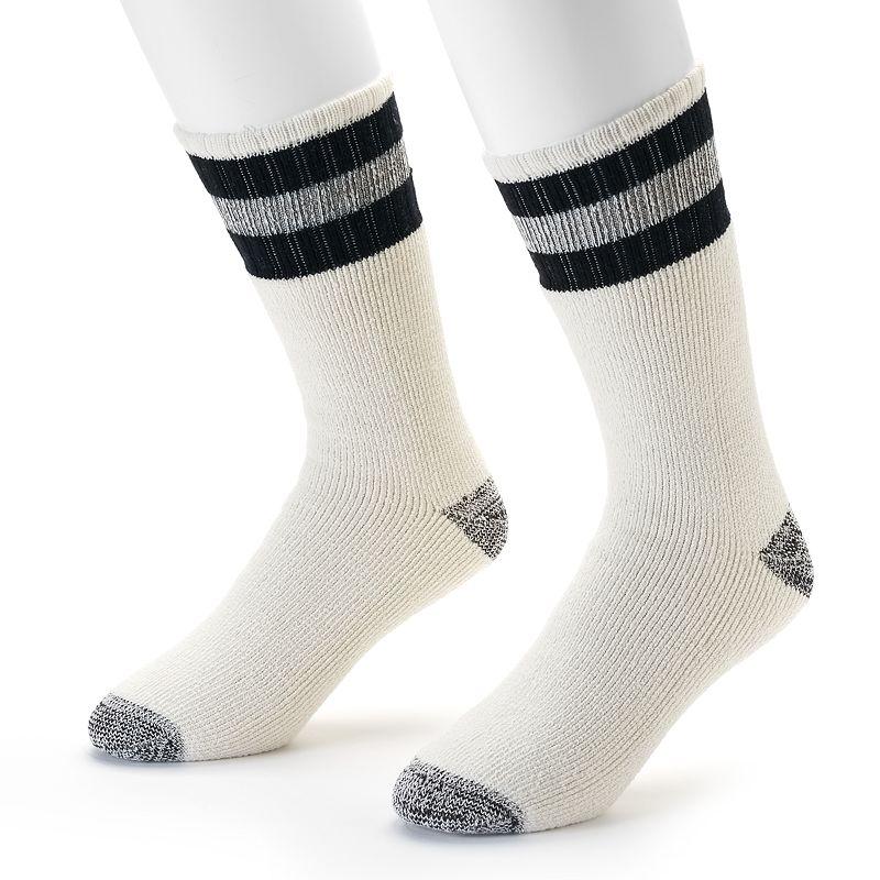 Croft & Barrow® 2-pack Heavyweight Boot Socks - Men