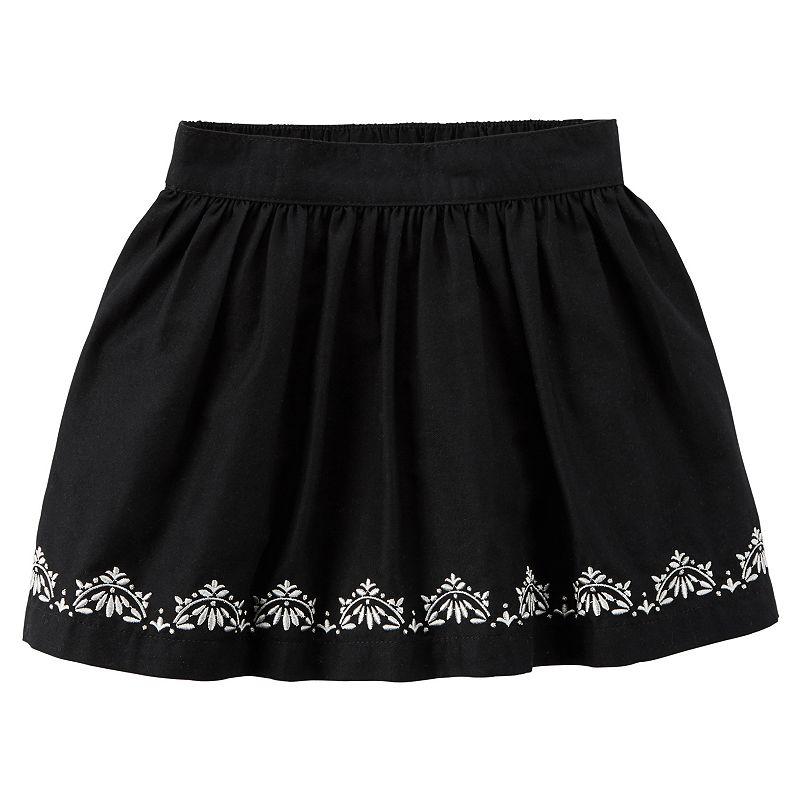 Girls 4-8 Carter's Embroidered Skirt