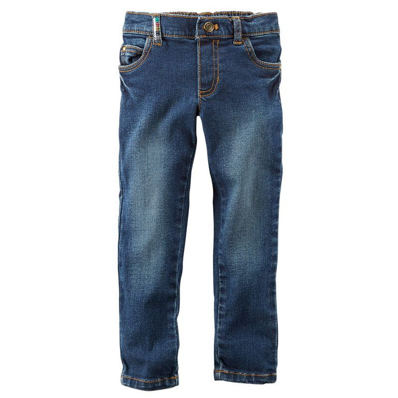 Girls 4-8 Carter's Sequin Jeans