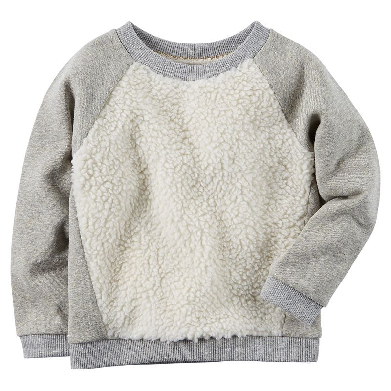 Carter's Sherpa Sweatshirt - Girls 4-8