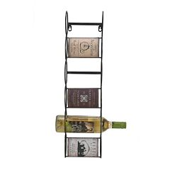 Elements Vintage Metal Wine Rack by