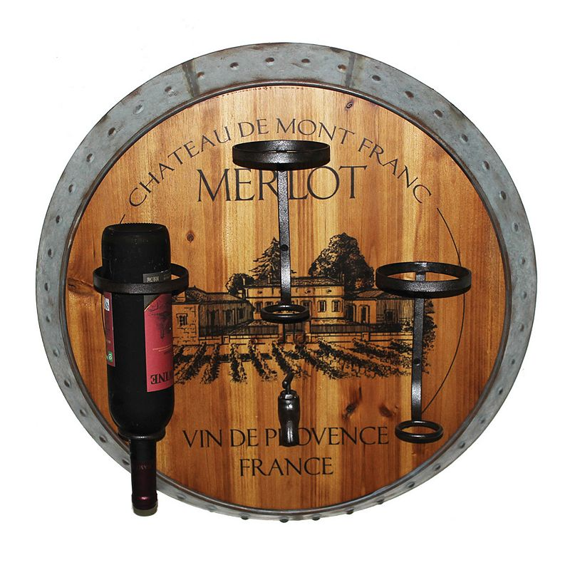 Merlot Wall Wine Rack