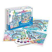 Sentosphere USA Dolphins Aquarellum