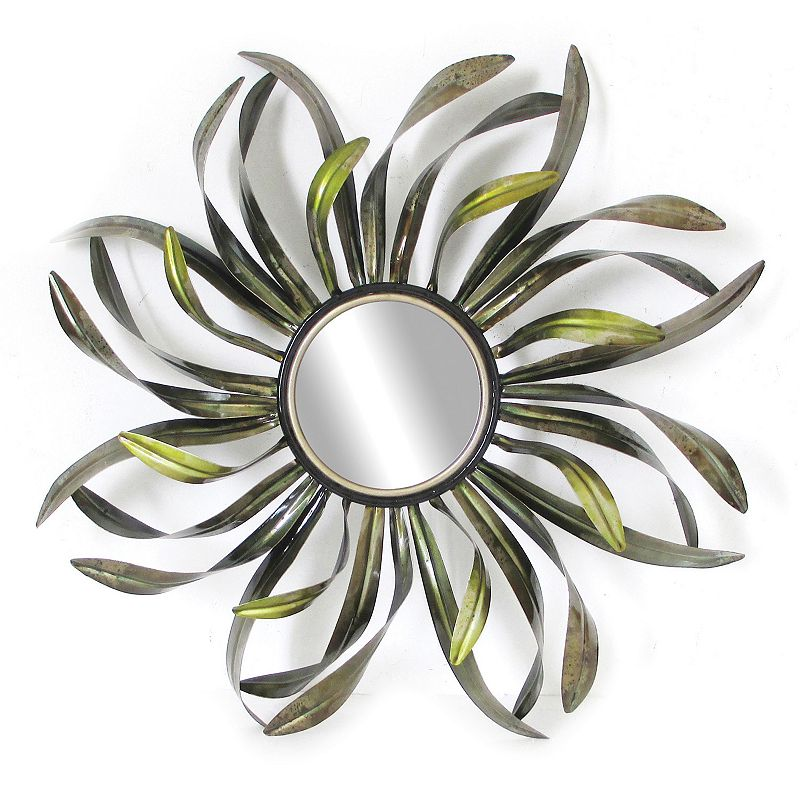 Swirling Leaves Wall Mirror