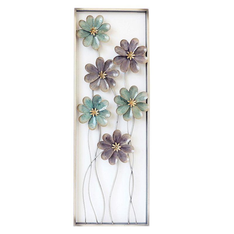 Metal Flower Wall Decor Kohls : Metal flower wall art kohl s