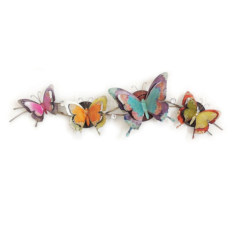 Glowing Butterflies Wall Decor