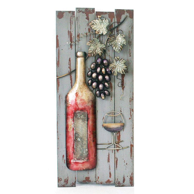 Wine Bottle Wall Decor