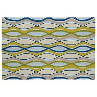 Kaleen Home & Porch Waves Indoor Outdoor Rug