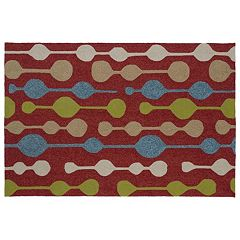 Kaleen Home & Porch Party Lights Indoor Outdoor Rug by