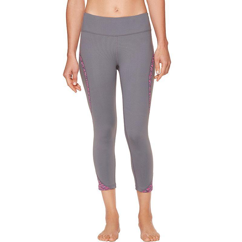 Women's Shape Active Platinum S-Seam Capri Workout Leggings