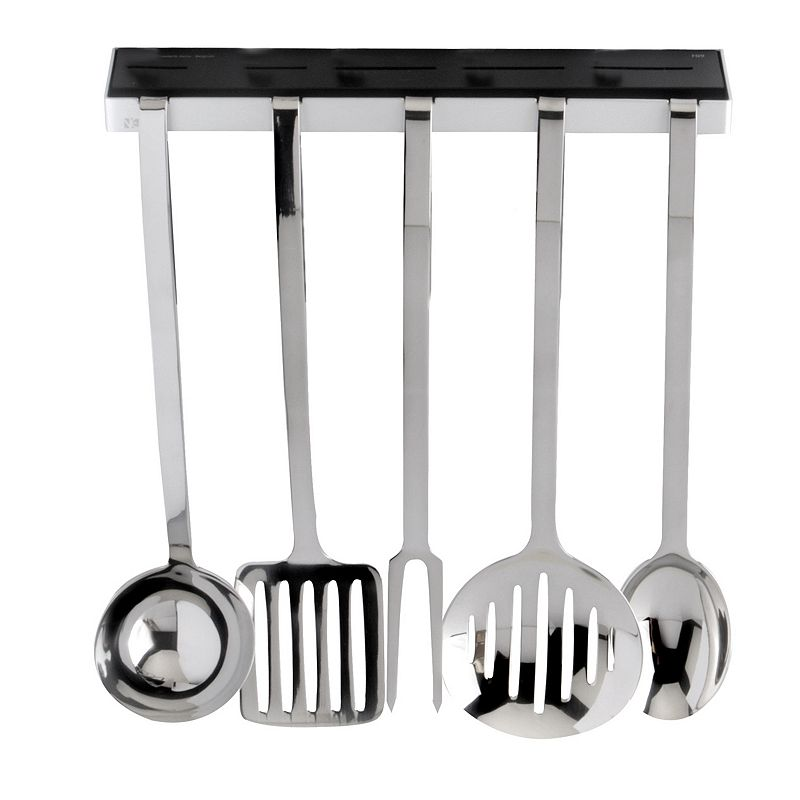 Berghoff neo 6 pc stainless steel kitchen utensil set for Kitchen set stainless steel